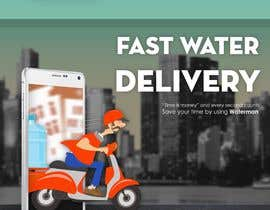 #28 cho Design Flyer for Water Delivery Mobile App A4 Size bởi SheikhSadab