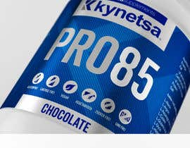 #83 for Design for sport supplements labels by mgtj
