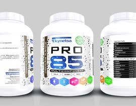 #135 for Design for sport supplements labels by aleksejspasibo