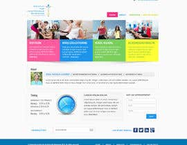 #30 for Wordpress Theme Design for Institut für funktionelle Bewegung by Pavithranmm