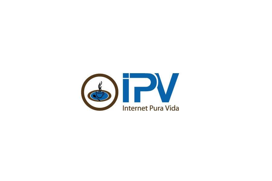 Inscrição nº                                         23                                      do Concurso para                                         Logo Design for  Internet Pura Vida