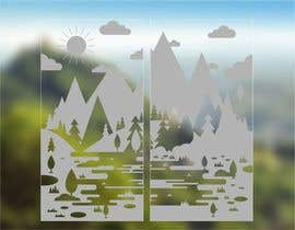 #31 for Design a foil for a two wing glas door af ConceptGRAPHIC