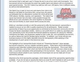Nro 5 kilpailuun URGENT Update Last Year Sponsor Package File with this Years logo and text käyttäjältä ciucacristi21