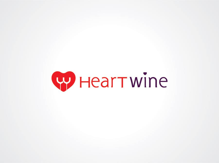 #34 for Logo Design for Heart Wine (love wine) by vdhadse