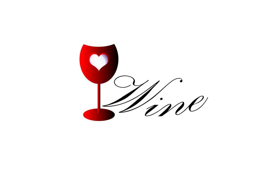 #288 for Logo Design for Heart Wine (love wine) by mirceabaciu