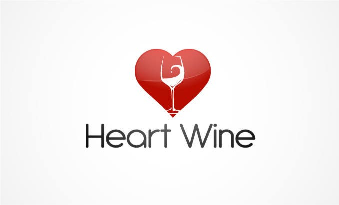 #78 for Logo Design for Heart Wine (love wine) by logoarts