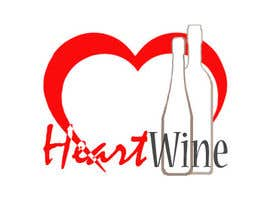 #106 para Logo Design for Heart Wine (love wine) por adityasaraff