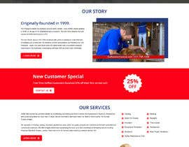 #18 for Design a Website Mockup for AC & Heating Company by gravitygraphics7