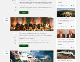 #136 for New layout for news agency website by xprtdesigner