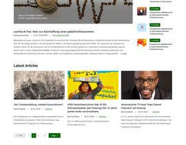 #140 for New layout for news agency website by syrwebdevelopmen