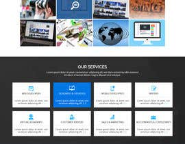 #32 for Design Landing Page for WEB DESIGN COMPANY by WebCraft111