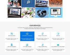 #47 for Design Landing Page for WEB DESIGN COMPANY by WebCraft111