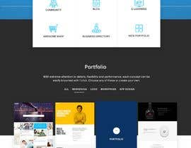 #54 for Design Landing Page for WEB DESIGN COMPANY by kubulu