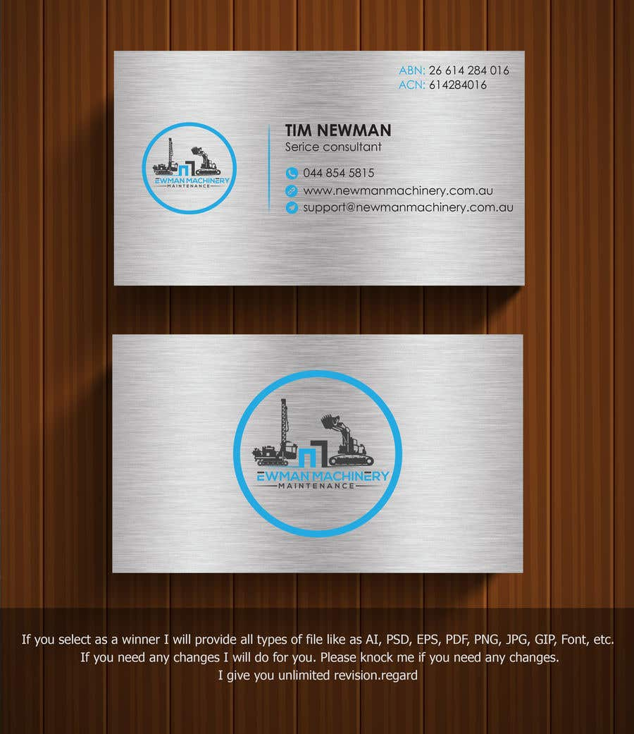 Entry 201 by kabir24mk for business cards design heavy industry contest entry 201 for business cards design heavy industry reheart Images
