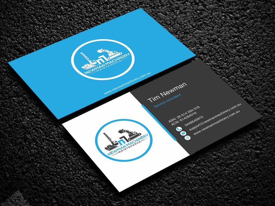 Entry 53 by nabila114 for business cards design heavy industry business card reheart