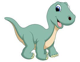 #12 cho Dinosaur cartoon character - graphic design needed. bởi nata94le