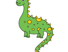 #10 cho Dinosaur cartoon character - graphic design needed. bởi FauziaT