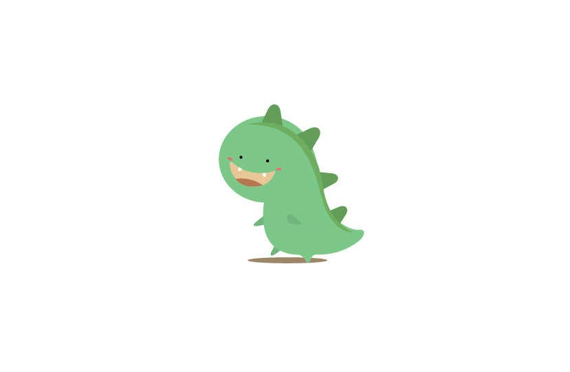 Cartoon Character Design Contest : Entry by eling for dinosaur cartoon character