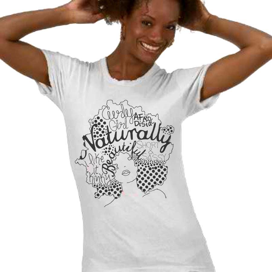 Konkurrenceindlæg #                                        26                                      for                                         T-shirt Design for Natural Beautees