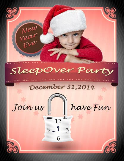 Bài tham dự cuộc thi #                                        17                                      cho                                         Design a Flyer for a New Years Eve Sleep Over Party