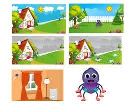 #38 untuk Create backgrounds and cartoon character for song oleh istykristanto