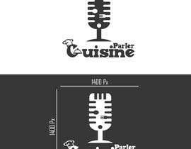 #103 for Concevoir un nouveau logo de podcast culinaire by aymanelghandour