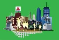 Bài tham dự #6 về Graphic Design cho cuộc thi Illustration Design for Generic Runners in Boston