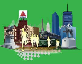 #6 for Illustration Design for Generic Runners in Boston by aneesgrace