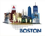 Bài tham dự #13 về Graphic Design cho cuộc thi Illustration Design for Generic Runners in Boston