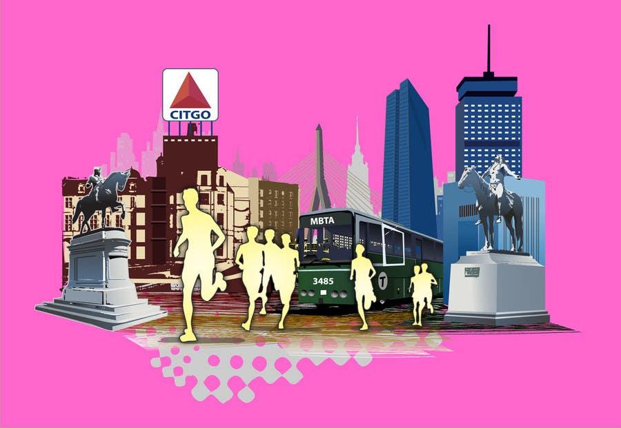 Bài tham dự cuộc thi #                                        5                                      cho                                         Illustration Design for Generic Runners in Boston