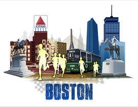 #10 for Illustration Design for Generic Runners in Boston by aneesgrace