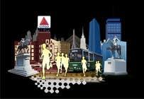 Bài tham dự #4 về Graphic Design cho cuộc thi Illustration Design for Generic Runners in Boston