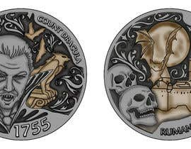 #40 for Sketch a realistic looking Dracula Coin by diaco80