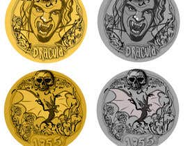 #45 for Sketch a realistic looking Dracula Coin by Valadar