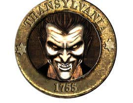 #36 for Sketch a realistic looking Dracula Coin by dreammachine321