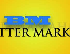 #43 para Design a Banner/Logo for the word Buttermarket por Onefilter