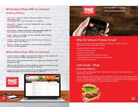 Nro 43 kilpailuun Design a Franchise Brochure combining two products käyttäjältä sub2016