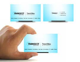 #7 para Business Card Design for Transect Industries por vigneshsmart