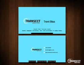 #55 untuk Business Card Design for Transect Industries oleh vigneshsmart