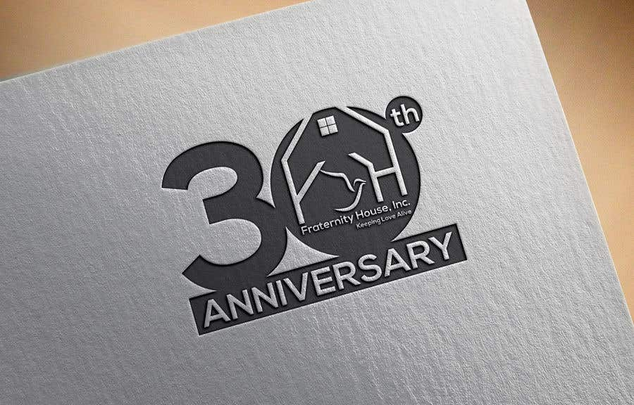 Entry #116 by alinub for 30th anniversary logo and tagline freelancer