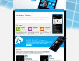 Nro 12 kilpailuun Website Design for OutCode käyttäjältä Enka