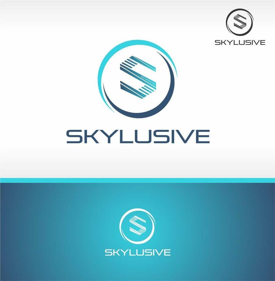 Penyertaan Peraduan #35 untuk Re-design my company logo into a sky-blue theme