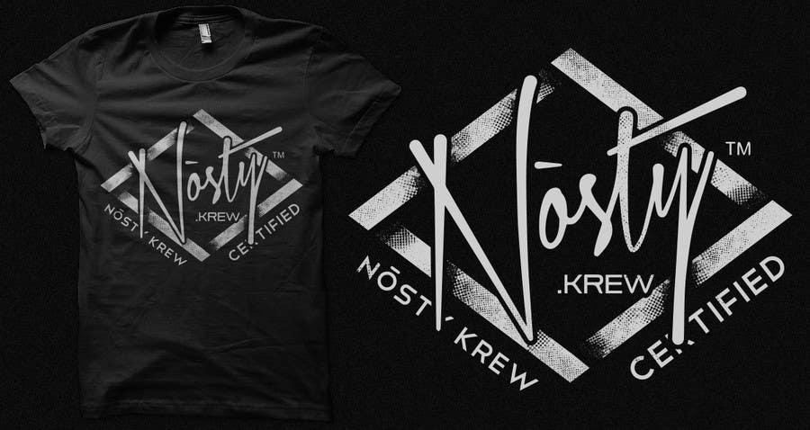 Bài tham dự cuộc thi #14 cho T-shirt Design for Nòsty Krew
