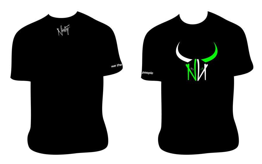 Bài tham dự cuộc thi #43 cho T-shirt Design for Nòsty Krew
