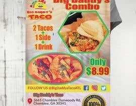 #44 para Make a Restaurant Poster COMBO flyer por mahafuzurmp