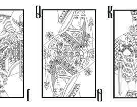#18 untuk Vector illustration of 3 playing cards oleh fegb8
