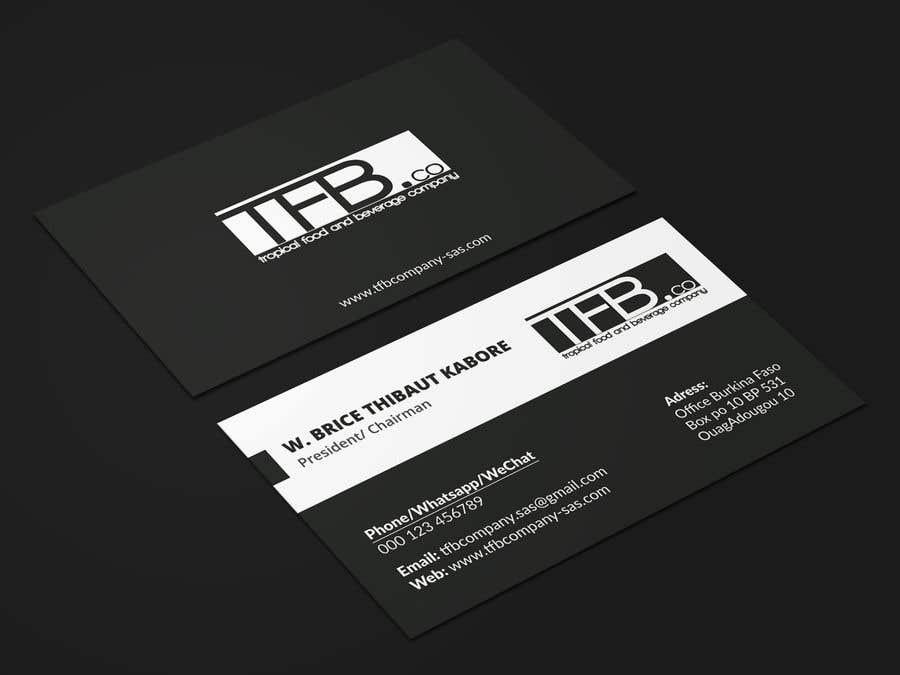 Contest Entry 110 For Conception De Carte Visite Business Card