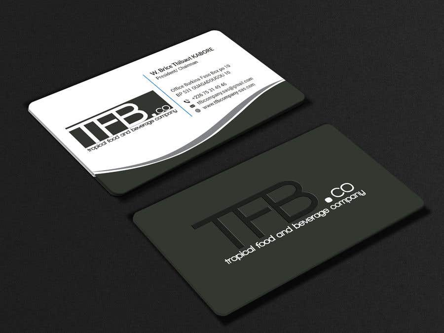 Contest Entry 78 For Conception De Carte Visite Business Card