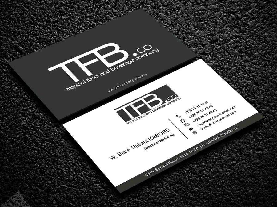 Contest Entry 178 For Conception De Carte Visite Business Card