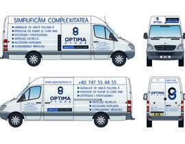 #9 pentru Van branding design de către skbeniwal